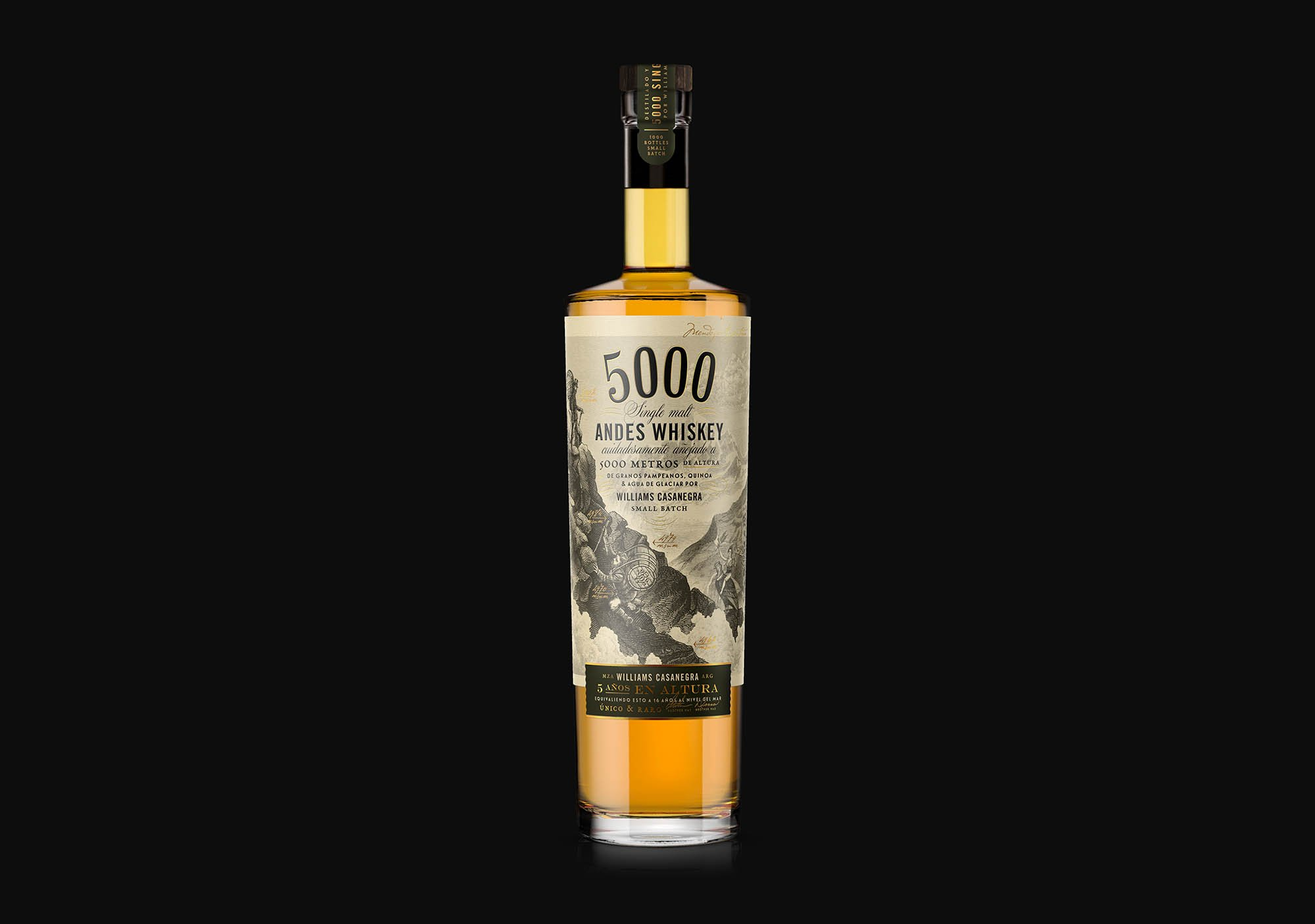 5000 oveja remi whisky