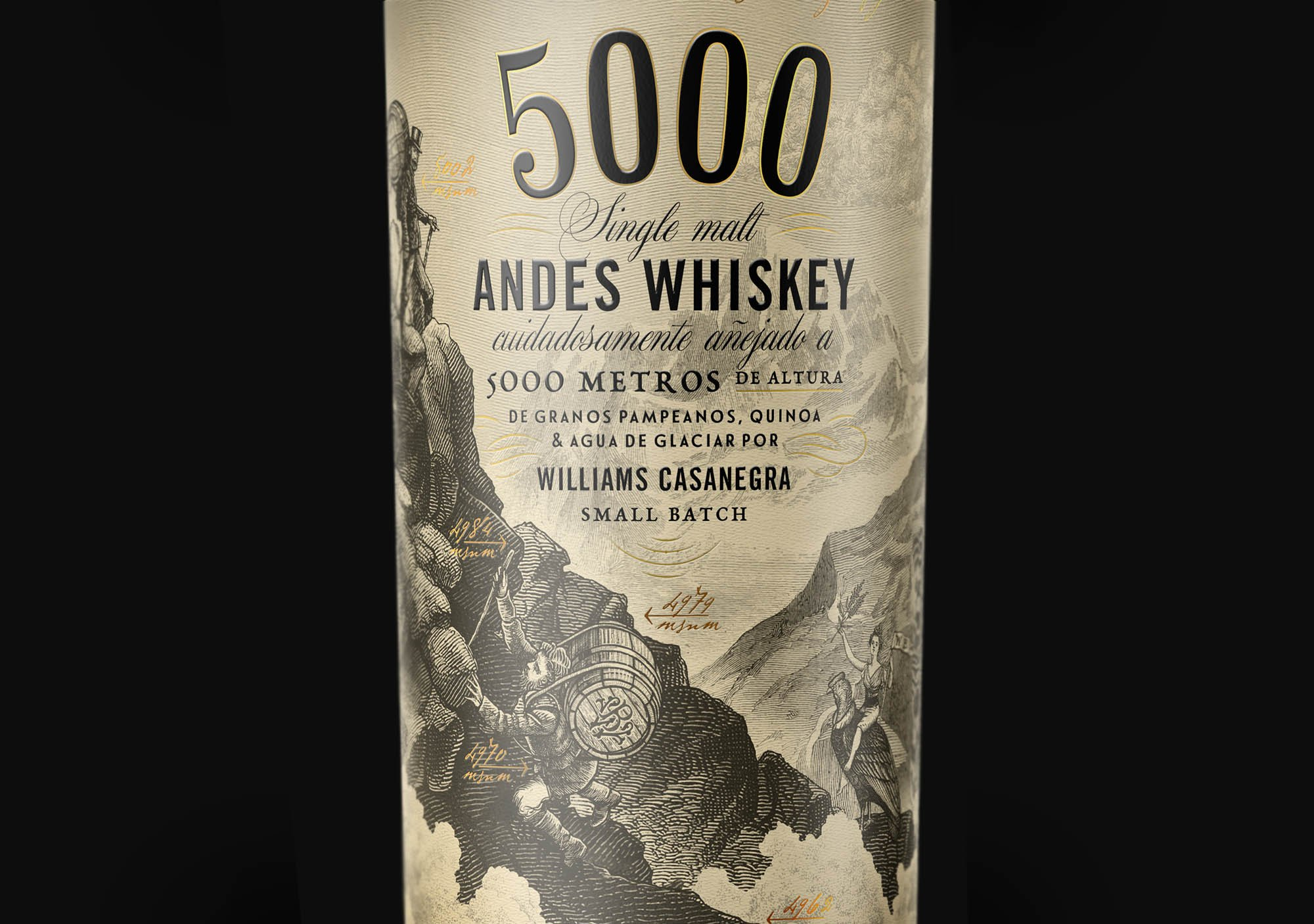 5000 oveja remi whiskey