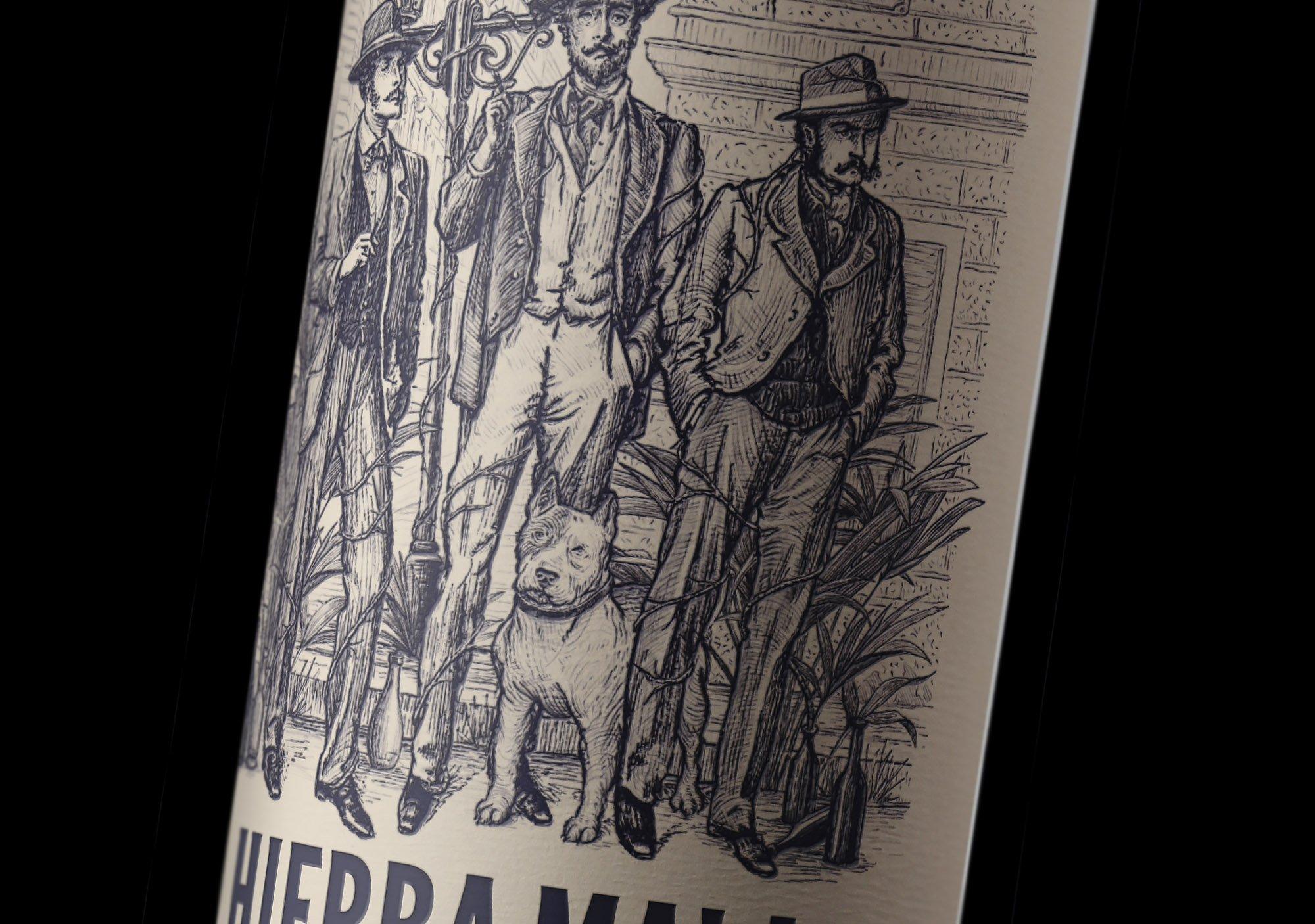 argentina label ginebra