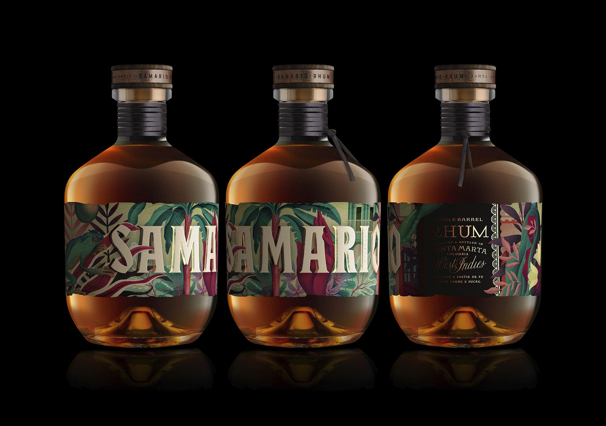 samario rum ron colombia